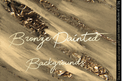 Bronze Painted Backgrounds