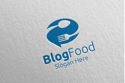 Blog Healthy Food Logo for Restaurant or Cafe 10