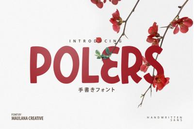 Polers - Sans Serif Font