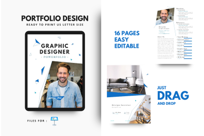 Graphic Designer Portfolio Keynote Template