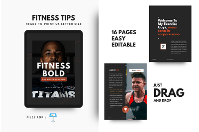 Fitness Motivation Template Keynote