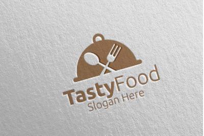 Good Food Restaurant or Cafe Logo 12