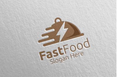 Fast Food Restaurant Logo 13