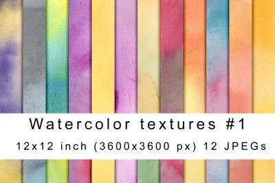 Watercolor textures 1