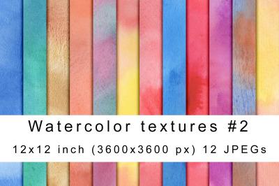 Watercolor textures 2