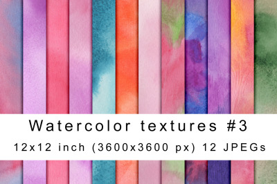 Watercolor textures 3