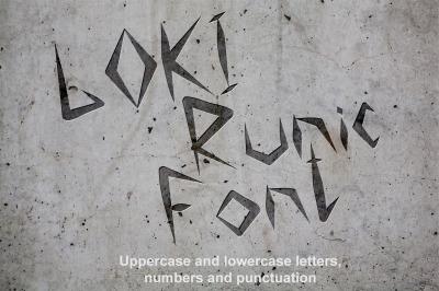 Loki Runic Font