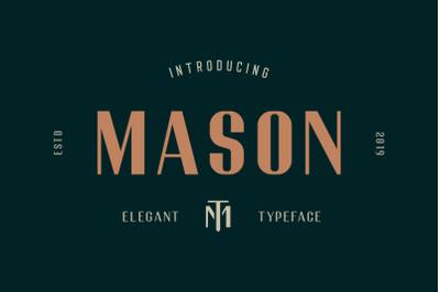 Mason - Elegant Font