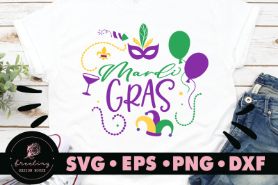 Mardi Gras Celebration SVG