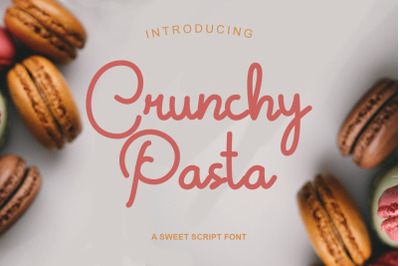 Crunchy Pasta