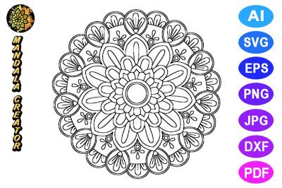 Mandala Flower Pattern - 06