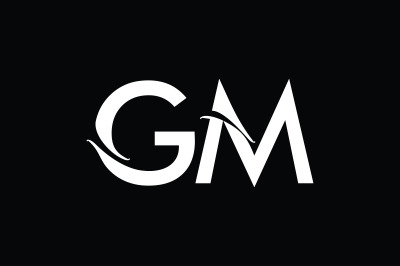 GM Monogram Logo Design