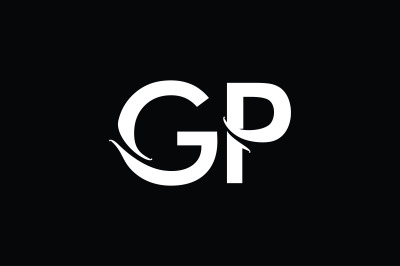 GP Monogram Logo Design