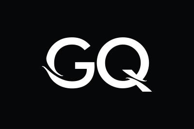 GQ Monogram Logo Design