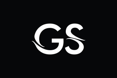 GS Monogram Logo Design