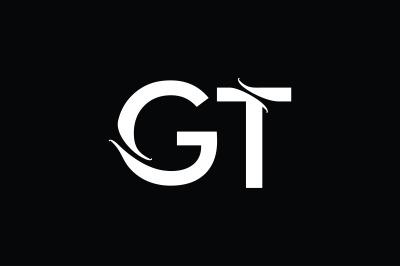 GT Monogram Logo Design