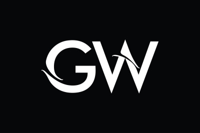 GW Monogram Logo Design