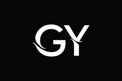 GY Monogram Logo Design