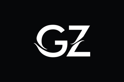 GZ Monogram Logo Design