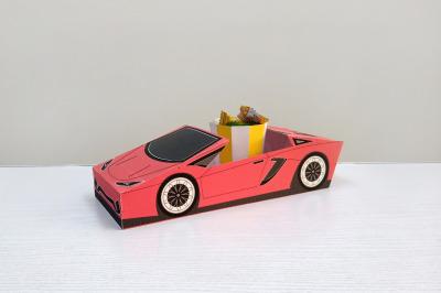 DIY Open Car favor - 3d papercraft