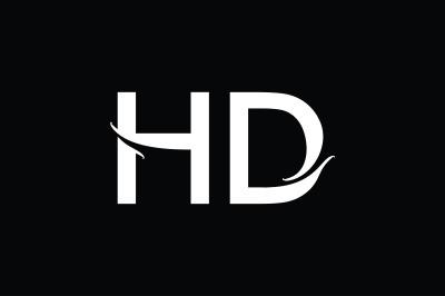 HD Monogram Logo Design