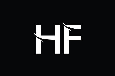 HF Monogram Logo Design