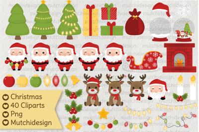Christmas Cute Cliparts
