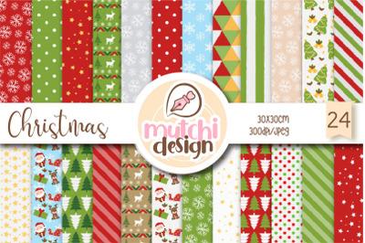 Christmas Cute Digital Papers