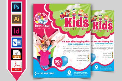 Kids Fashion Shop Flyer Vol-02