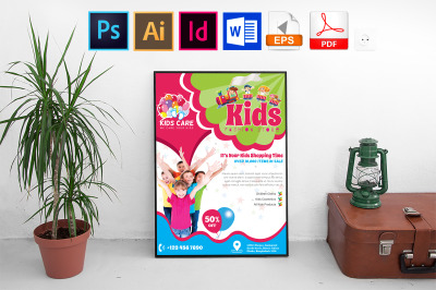 Poster | Kids Fashion Shop Vol-02
