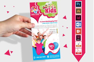 Rack Card | Kids Fashion DL Flyer v-02