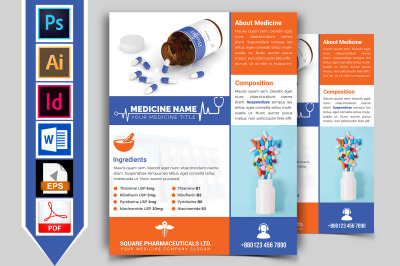 Medicine Promotional Flyer Vol-02