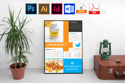 Poster | Medicine Promotional Vol-01