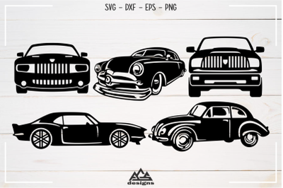 Car Sillhoutte Packs Svg Design