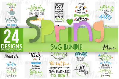 Spring Svg Bundle
