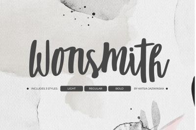 Wonsmith | Script Font Trio