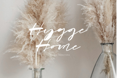 Hygge Home | Signature Font