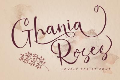 Ghania Roses