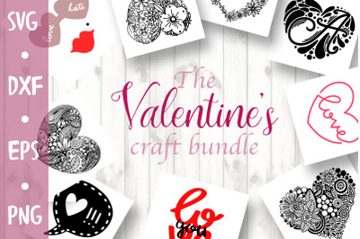 Valentine's Craft Bundle - 55 products in 1