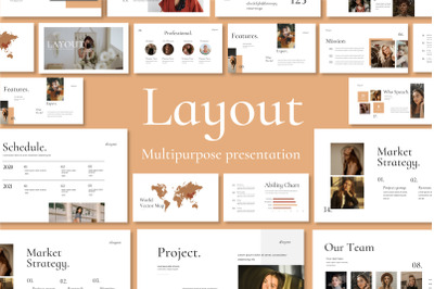 LAYOUT VOL. 2 - PowerPoin Template