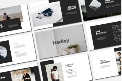 HADLEY - PowerPoin Template