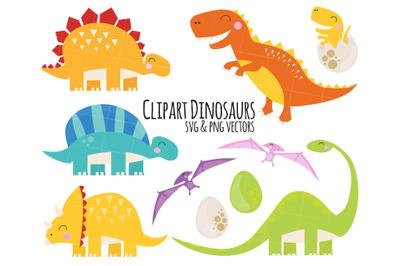 Dinosaurs Clipart, Dinosaurs clip art, trex clipart, stegosaurus