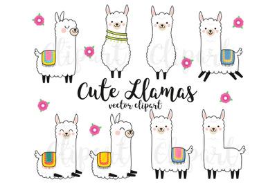 Llama Clipart, llama clip art, llama party, farm clipart