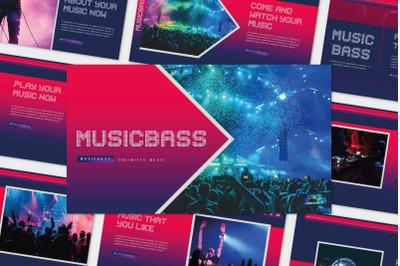 MUSICBASS - PowerPoin Template