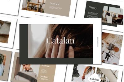 CATALAN - PowerPoin Template