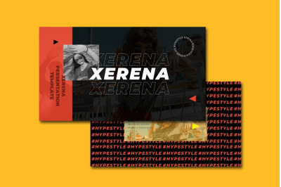 XERENA VOL . 1 - PowerPoin Template