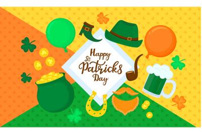 Happy St. Patricks Day set
