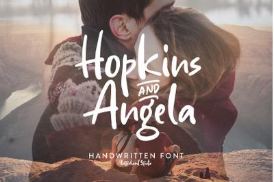 Hopkins Angela - Handwritten Font