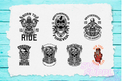 Bikers T-Shirt Design Bundle