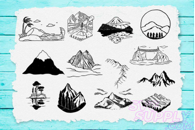Mountain Adventure SVG Bundle